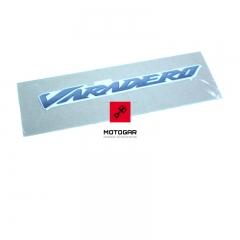 Naklejka Varadero Honda XL 125 2011-2015 biała owiewka [OEM: 64224KPC680ZB]