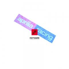 Naklejka przedni błotnik Aprilia Racing RSV4 1000 Tuono V4 1100 2017 [OEM: 2H001617]