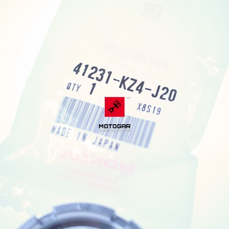 Zabezpieczenie łożyska tylnego koła Honda CRF 250 450 CR 125 250 [OEM: 41231KZ4J20]