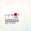 Szczotka szczotki alternatora Honda CB 650 750 900 CBX 1000 [OEM: 31124MG5000]