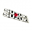 Naklejki emblematy pługu Suzuki GSXR 125 2018 zestaw [OEM: 6818123K00ASR]