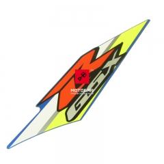 Naklejka lewej owiewki Suzuki GSXR 125 2018 [OEM: 6819523K10YSF]