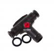 Trójnik przewodów paliwowych gaźnika Honda CBR 600 900 1000 CB CBF 600 [OEM: 16024MZ2E00]