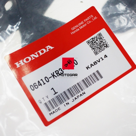 Gumy zabieraka Honda VT 125 Shadow XL 125 Varadero CMX 250 CA 125 [OEM: 06410KR3620]