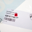 Naklejka Ducati Corse Superbike 1199R 2013-2014 prawa owiewka [OEM: 43818771A]