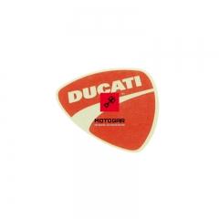 Emblemat Ducati Monster Streetfighter Superbike Hypermotard [OEM: 43814741A]