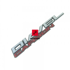 Emblemat Ducati Diavel Carbon 2011-2018 [OEM: 43815711A]