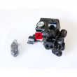 Uchwyt lusterka, zbiornik wyrównawczy płynu hamulcowgo Honda VT 125 Shadow [OEM: 45510KGB611]