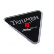 Logo Triumph dekla silnika przedniego błotnika Bonneville T100 Rocket III Thruxton 900 [OEM: T3950100]