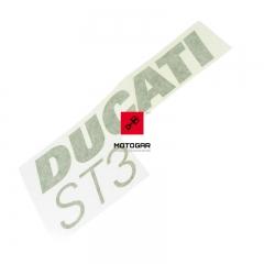 Naklejka owiewki Ducati Sport Touring ST3 2004-2005 lewa [OEM: 43711361AB]