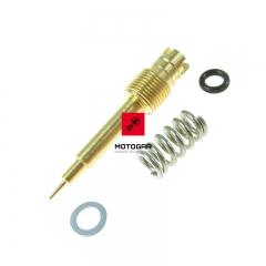 Śruba regulacji składu mieszanki Honda CBR 600F 1987-1990 zestaw [OEM: 16016KPB641]