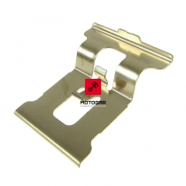 Blaszka sprężyna klocków hamulcowych Suzuki RM 125 250 DRZ 400 tył [OEM: 5931536E00]