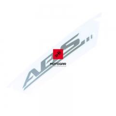 Naklejka ABS Suzuki DL GSR AN GSF GSX GSXR [OEM: 6815144G001ZY]