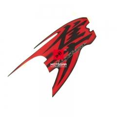 Naklejka prawej owiewki Suzuki GSX 1300R Hayabusa [OEM: 6868515H00HWW]