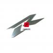 Naklejka owiewki Suzuki GSXR 1000 2008-2014 prawa [OEM: 6868121HA0]
