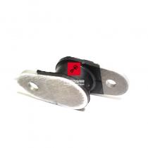 Uchwyt, mocowanie dyfuzora Suzuki RM 125 RM 250 [OEM: 1477037F00]