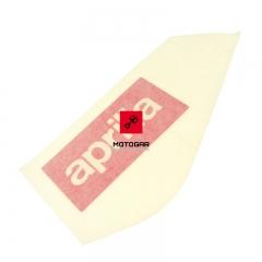 Naklejka baku zbiornika paliwa Aprilia RS4 50 125 2011-2013 lewa [OEM: 899870]