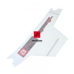 Naklejka czachy czaszy Aprilia RSV4 1000 APRC R 2013-2014 prawa [OEM: 2H000206]