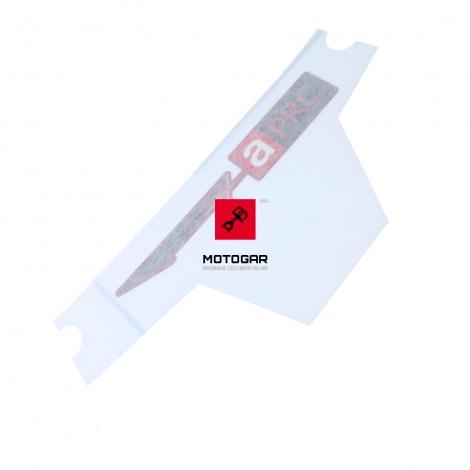 Naklejka czachy czaszy Aprilia RSV4 1000 APRC R 2013-2014 lewa [OEM: 2H000207]