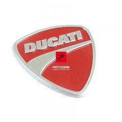 Emblemat błotnika Ducati Diavel Monster przedniego [OEM: 43814751A]