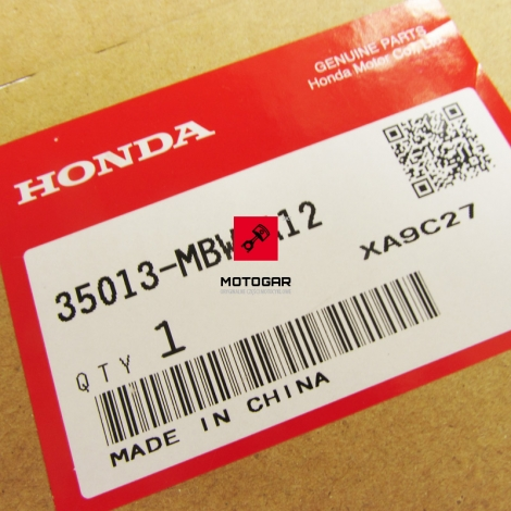 Przełącznik kierownicy Honda CBR 600F 2003 -2007 prawy zapłonu [OEM: 35013MBWA12]