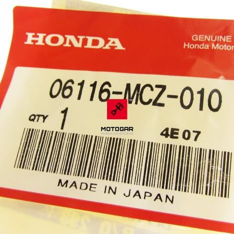 Zestaw oringów podkładek dołu silnika Honda CB 900F 2002-2005 [OEM: 06116MCZ010]
