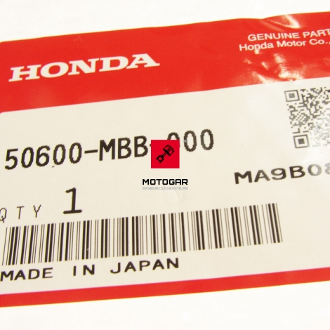 Set podnóżka kierowcy Honda VTR 1000F Firestorm 1997-2000 prawy [OEM: 50600MBB000]