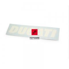 Naklejka Ducati na bak Ducati Superbike 1199 Panigale Tricolore 12' [OEM: 43818161A]