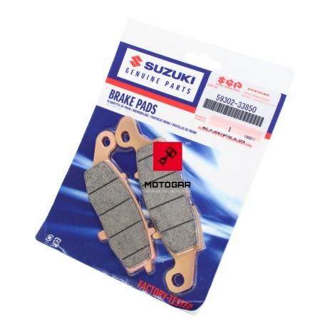Klocki hamulcowe Suzuki DL 650 1000 V-Strom przód lewe [OEM: 5930233850]