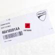 Podnóżek pasażera Ducati Multistarda Hypermotard prawy [OEM: 46410591AA]