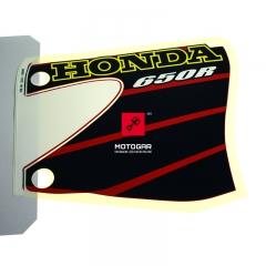 Naklejka baku paliwa Honda XR 650 2001 prawa [OEM: 87126MBN700ZA]