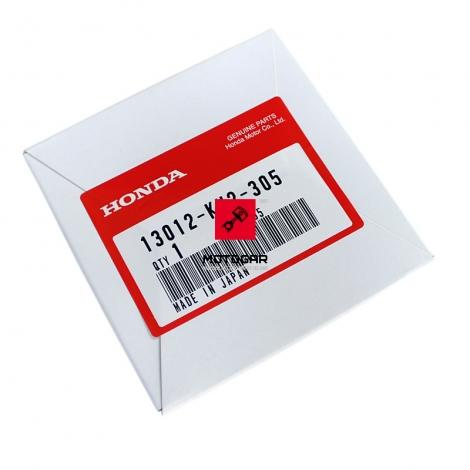 Pierścienie tłokowe Honda XR 350 XL 350 XLX 350 nadwymiar 0.25 [OEM: 13012KV2305]