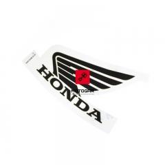 Naklejka na bak Honda CB 600 Hornet 2008 lewa [OEM: 87122MFGD40ZA]