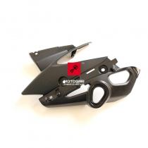 Prawa owiewka, plastik lampy przedniej, reflektora Yamaha FZ8 Fazer [OEM: 39P2313100]