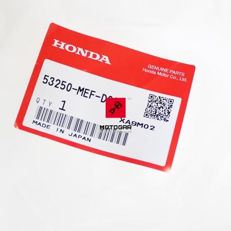 Osłona kierownicy Honda FJS 600 Silver Wing 2005 2006 [OEM: 53250MEFD00]