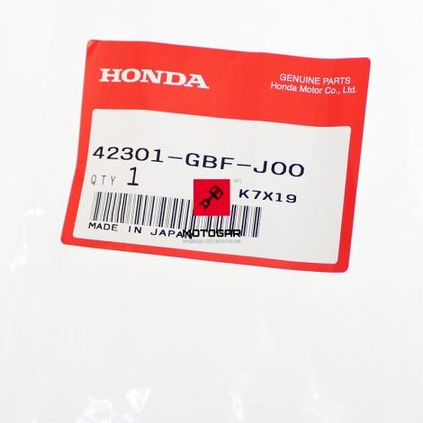 Oś koła piasty Honda CR 80 85 tył tylnego [OEM: 42301GBFJ00]