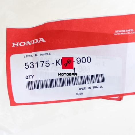 Klamka dźwignia hamulca Honda CBF 125 250 [OEM: 53175KBW900]