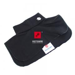 Komin golf ocieplacz motocyklowy Suzuki czarny [OEM: 990F0SNECK002]