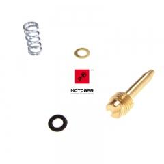 Śruba regulacji składu mieszanki Yamaha DT TDR TZR 125 zestaw [OEM: 3MB1410400]