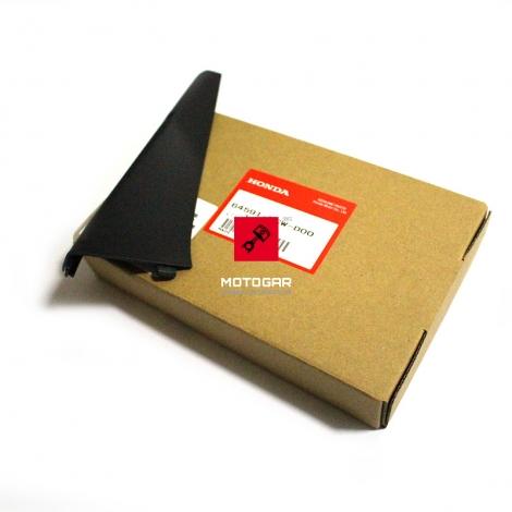 Prawy uchwyt, listwa przedniej szyby, owiewki Honda VFR 800 czarna [OEM: 64591MCWD00]
