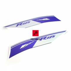 Naklejki owiewek bocznych Yamaha YZF R125 2014 [OEM: 5D7F83B1C0]