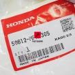 Podnóżek kierowcy Honda VT 700 800 1100 1300 VTX 1800 prawy [OEM: 50612MFR305]