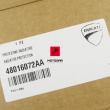 Osłona ochrona chłodnicy Ducati Monster 1200 2014-2019 czerwona [OEM: 48016072AA]