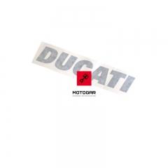 Emblemat naklejka na bak Ducati Monster 400 600 620 750 900 1000S4R [OEM: 43510971AB]