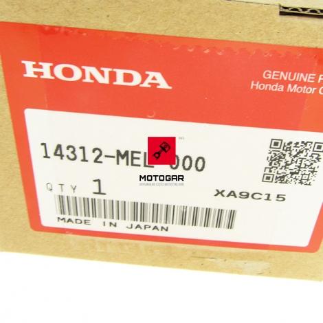 Zębatka tryb wału Honda CB CBF CBR 600 1000 17T [OEM: 14312MEL000]