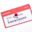 Naklejka na bak paliwa Honda CB 600 Hornet 2007-2008 prawa [OEM: 87121MFGD00ZD]