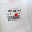 Półpanewki, panewki Honda CBR 600 wału korbowego [OEM: 13316MBW003p
