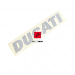 Logo naklejka owiewki zbiornika Ducati Hypermotard 2013-2018 [OEM: 43513351A]