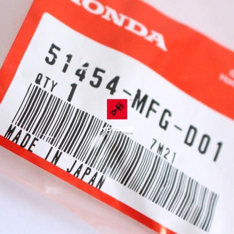Nakrętka, korek, śruba lagi Honda CB 600 F/FA Hornet 07-08 [OEM: 1454MFGD01]