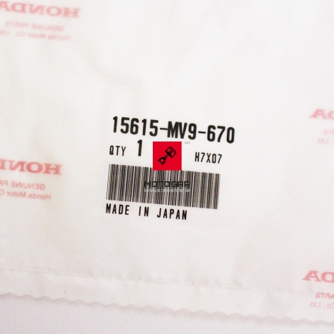 Uszczelka chłodnicy oleju Honda CBR CBF CB 600 [OEM: 15615MV9670]